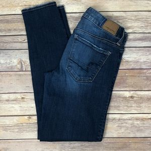 AMERICAN EAGLE Super Stretch Skinny Jeans | Short